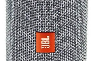 Altavoz portatil Bluetooth JBL Flip 4 color gris