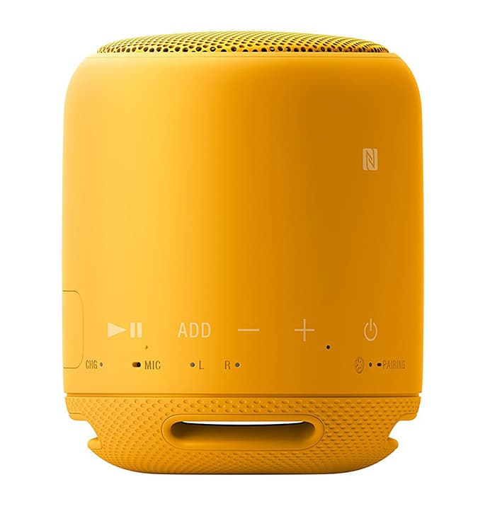 Sony SRS-XB10B color amarillo botones integrados